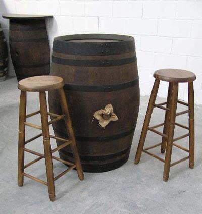 Mesas de barricas toneles rustico accesorios barricas toneles barricas toneles - Muebles tapa tapa ...