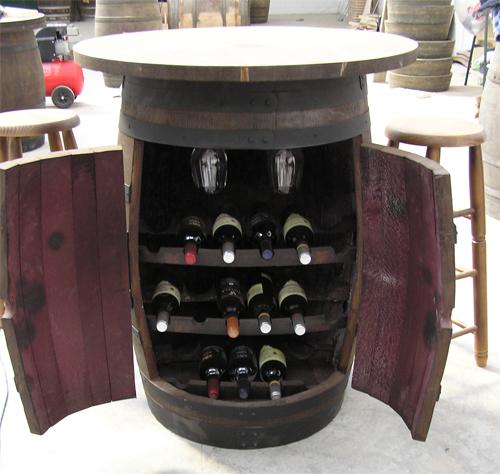 Botelleros de barricas barriles o toneles botellero de - Botelleros para vinos ...