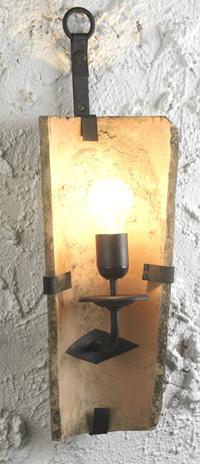 Apliques lamparas y faroles rustcos para decoracion de hosteleria bodegas casa rurales - Apliques y lamparas ...