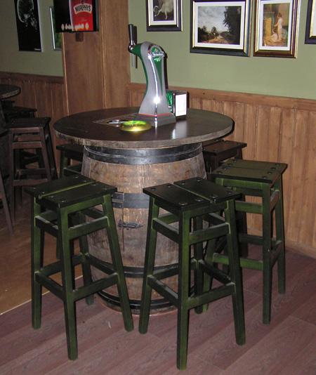 Barricas autopull y columnas de cerveza toneles barriles - Muebles montilla malaga ...