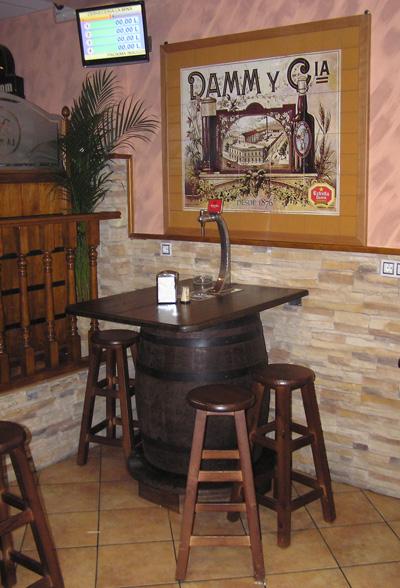 Barricas autopull y columnas de cerveza toneles barriles - Grifos de cocina rusticos ...
